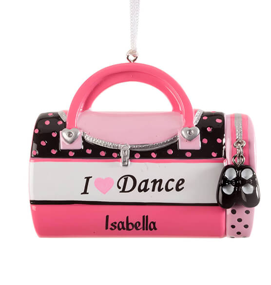 "Personalized ""I Love Dance"" Ornament - View 2"