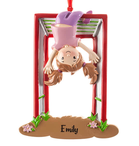 Personalized Monkey Bars Ornament - View 4
