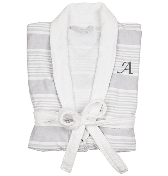 Personalized Turkish Cotton Robe - View 5