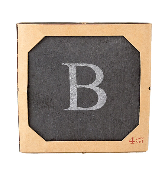 Personalized Slate Coasters, Set of 4 - View 5