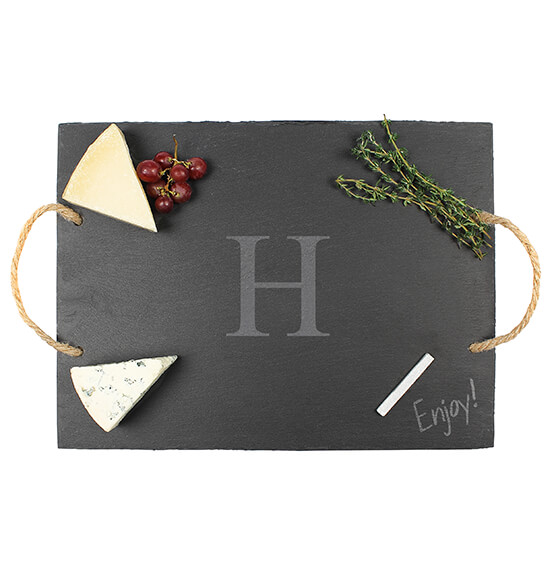 Personalized Slate Serving Board - View 2