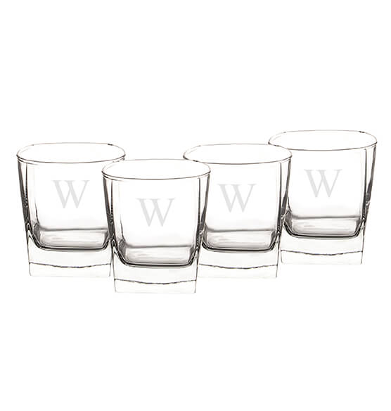 Personalized Rocks Glasses 10.5 oz., Set of 4 - View 5