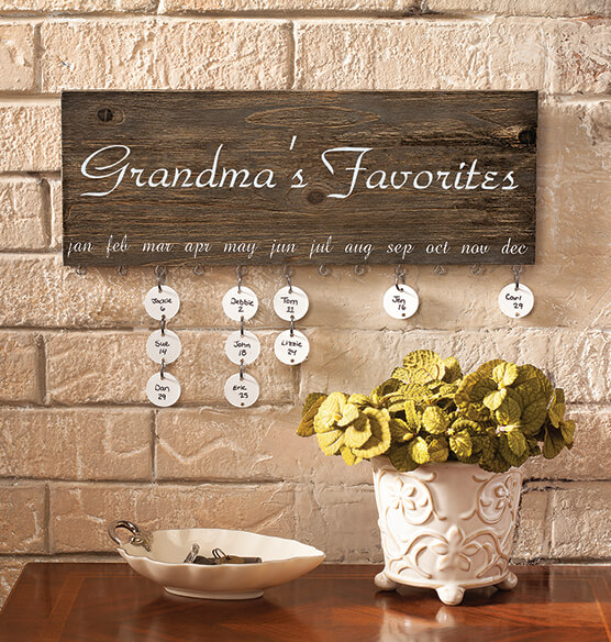 Personalized Dates To Remember Wall Hanging - View 4