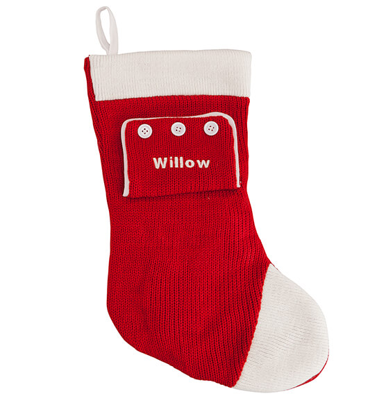 Personalized Pajamas Stocking - View 2