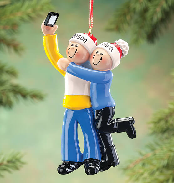 Personalized Selfie Family Ornament - View 2
