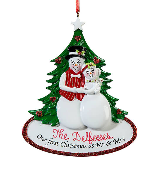 Personalized Our First Christmas Ornament - View 2