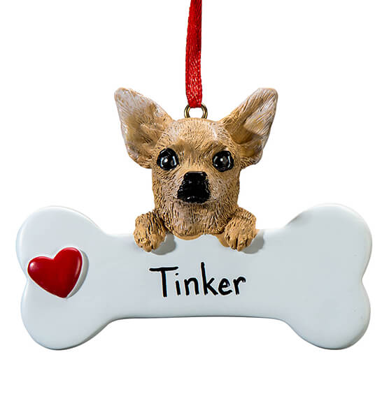 Personalized Chihuahua Ornament - View 2