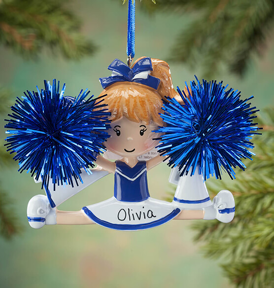 Personalized Cheer Ornament - View 2