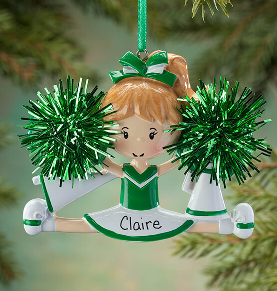 Personalized Cheer Ornament - View 3