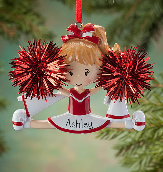 Personalized Cheer Ornament - View 4