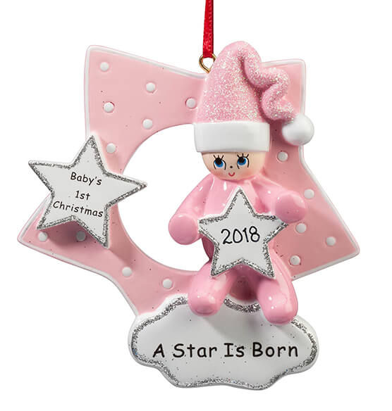 Personalized A Star Is Born Ornament - View 4
