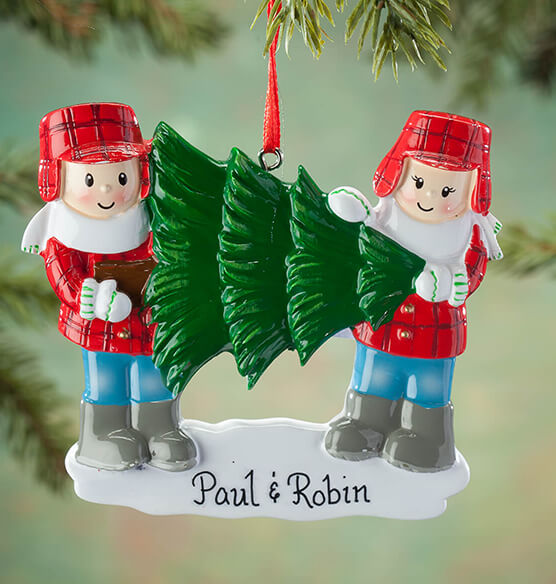 Personalized Family and Tree Ornament - View 2
