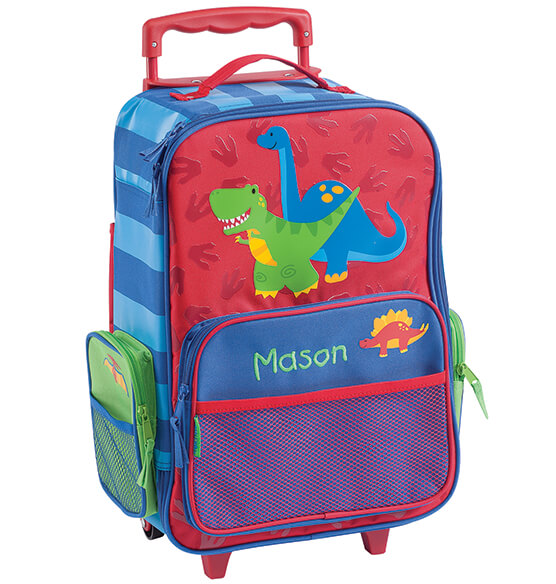 Personalized Stephen Joseph®Dinosaur Classic Rolling Luggage - View 2