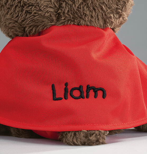 Personalized Superman Teddy Bear - View 2