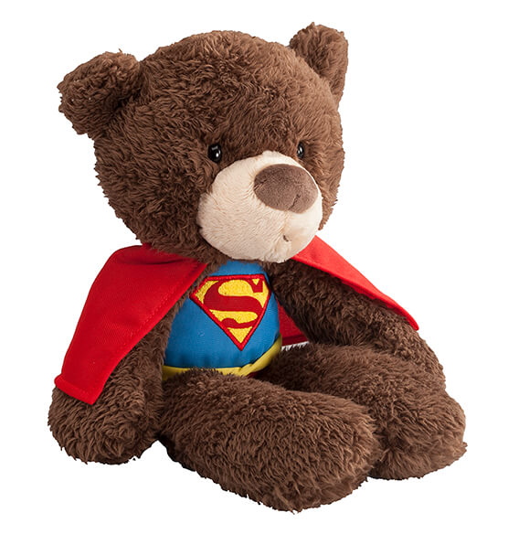 Personalized Superman Teddy Bear - View 3