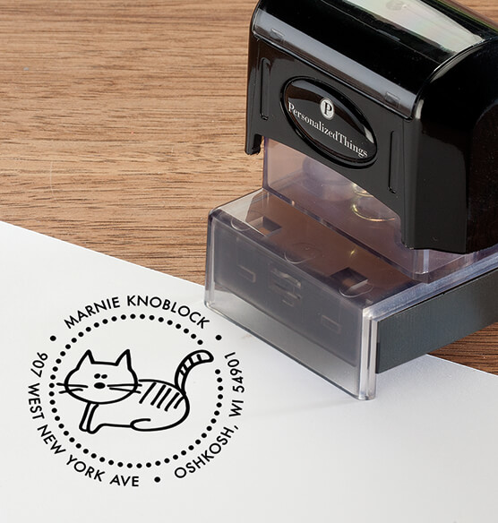 Personalized Cat Stamper - View 2