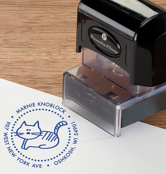 Personalized Cat Stamper - View 3