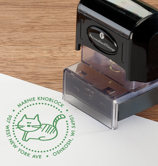Personalized Cat Stamper - View 4