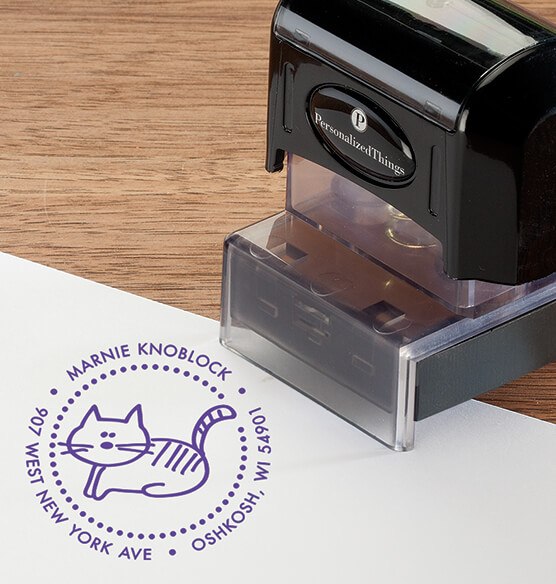 Personalized Cat Stamper - View 5