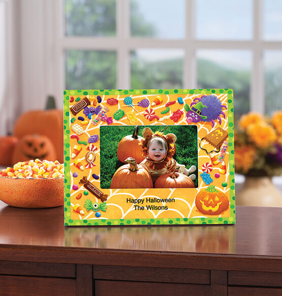 Personalized Halloween Goodies Decorative Photo Frame - View 2