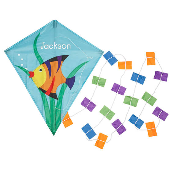Personalized Children's Fish Kite - View 2