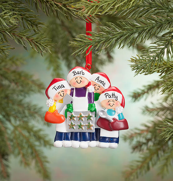 Personalized Family Cookie Baking Ornament - View 3