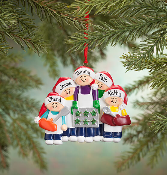 Personalized Family Cookie Baking Ornament - View 4