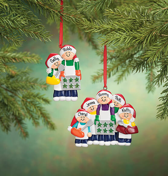Personalized Family Cookie Baking Ornament - View 5