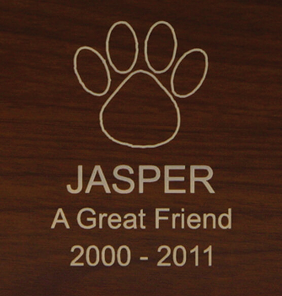 Personalized Box Pet Urn - View 2