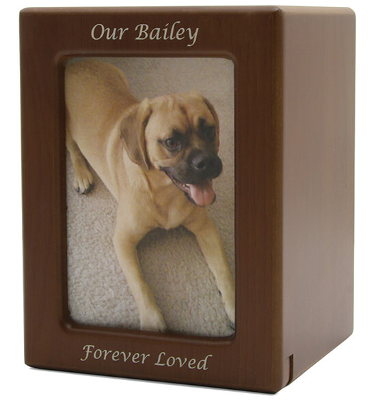 Personalized Photo Frame Pet Urn - View 2