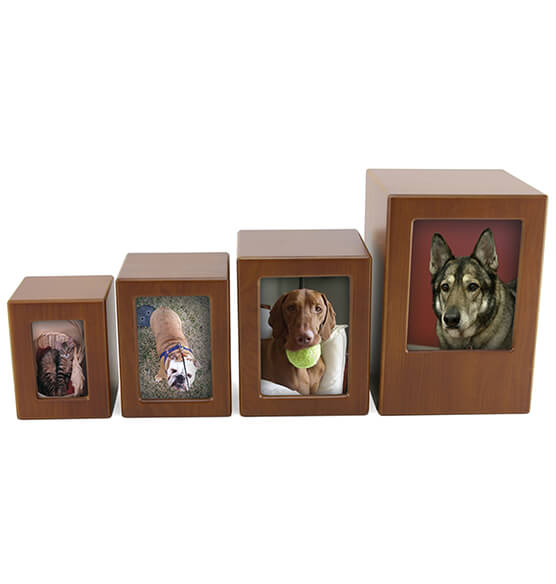 Personalized Photo Frame Pet Urn - View 3