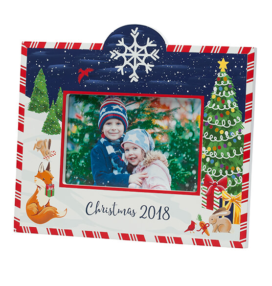 Personalized Winter Frolic Christmas Frame - View 3