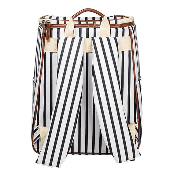 Personalized Striped Backpack Cooler - View 5