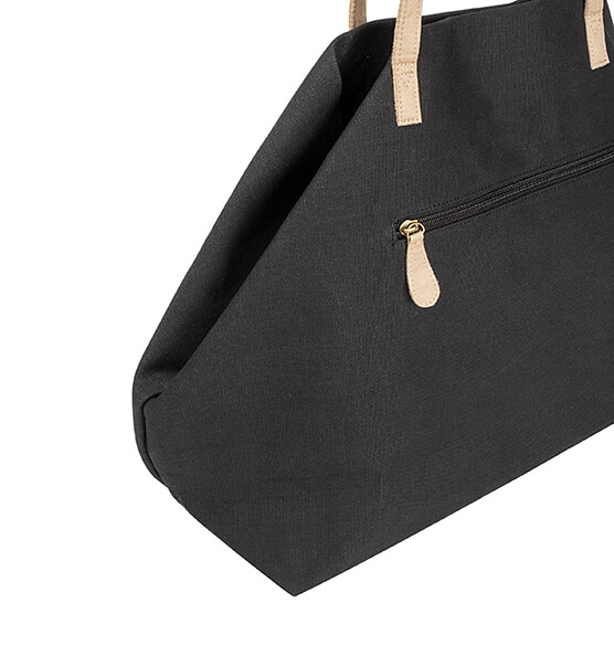 Personalized Black Overnight Tote - View 5