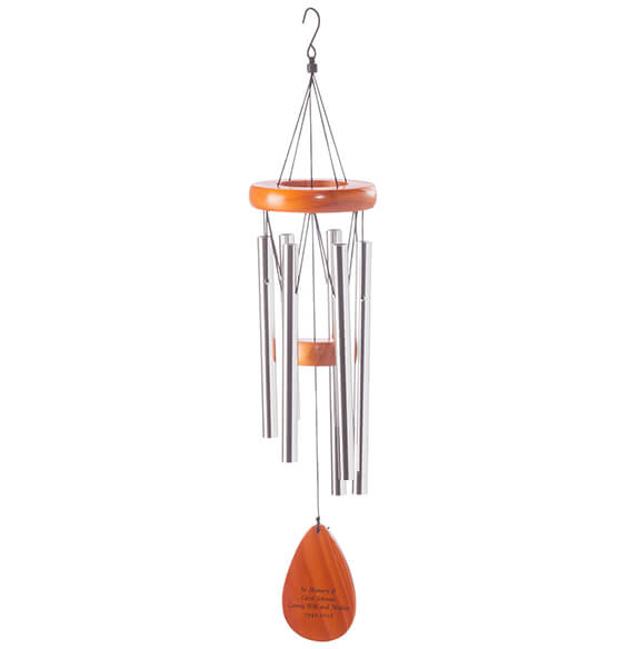 Personalized Wooden Windchime - View 3