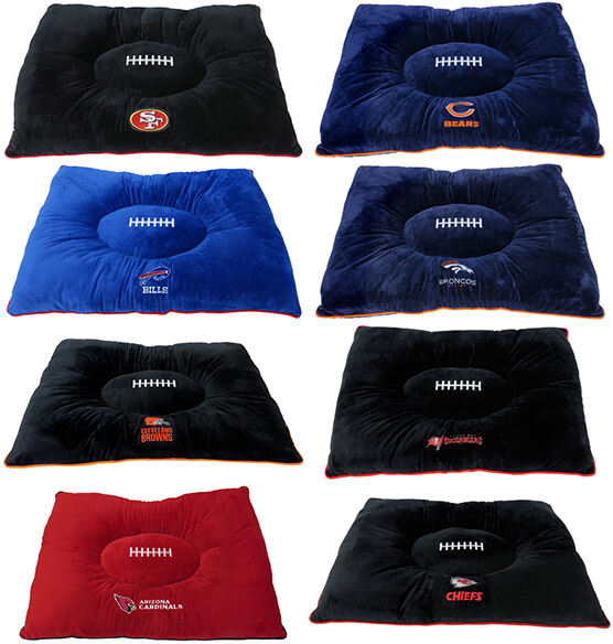 NFL Pet Pillow Bed - View 2