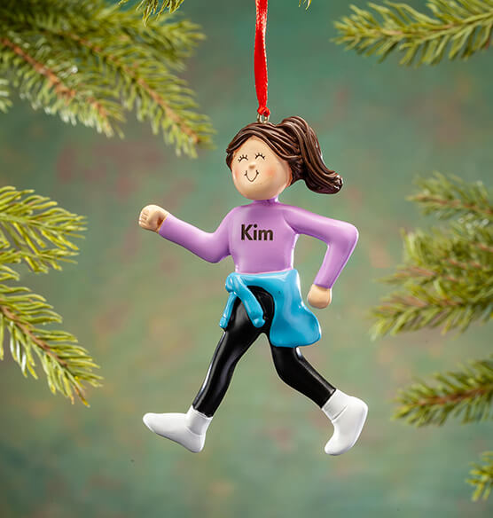 Personalized Walking Ladies Ornament - View 2