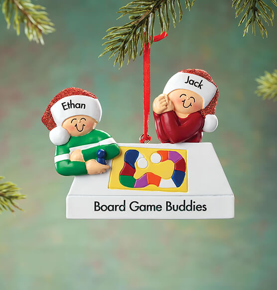Personalized Game Board Family Ornament - View 2