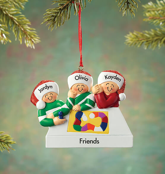 Personalized Game Board Family Ornament - View 3