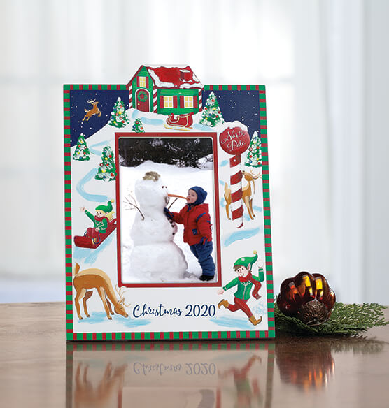 Personalized Christmas Break at the North Pole Frame - View 4