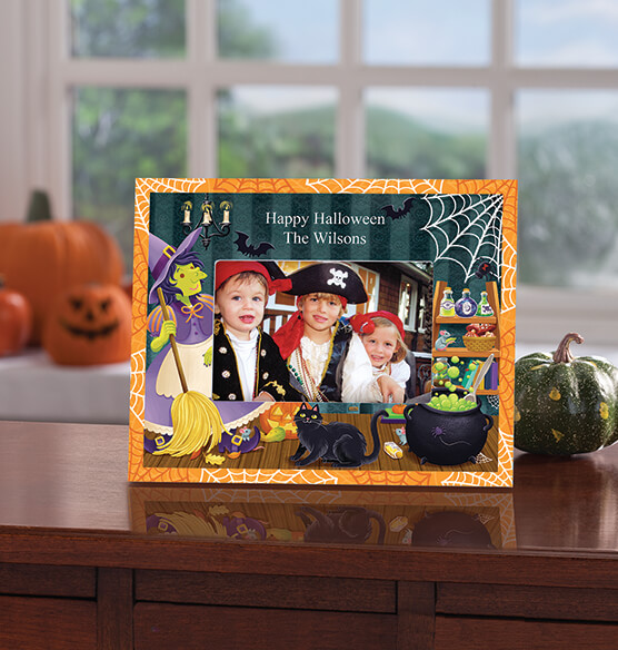 Personalized Witches Brew Halloween Frame - View 2