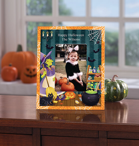 Personalized Witches Brew Halloween Frame - View 3