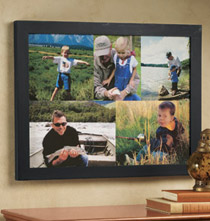 5 Photo Custom Collage Canvas