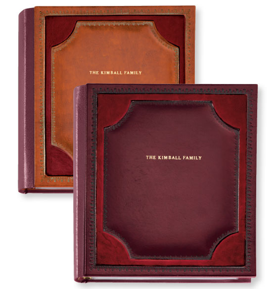 Palazzo Leather Photo Album