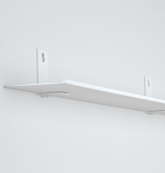 Invisible Display Ledge and Connector Brackets