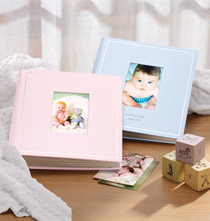 Ring Albums - Beautiful Baby Personalized Photo Album