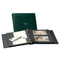 Platinum Leather Albums - Charter Personalized Photo Album