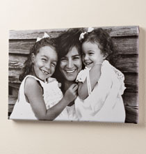 Gifts Under $100 - 11 x 17 Custom Photo Canvas