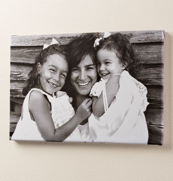 Full Bleed Single Photo Canvas 11 x 17