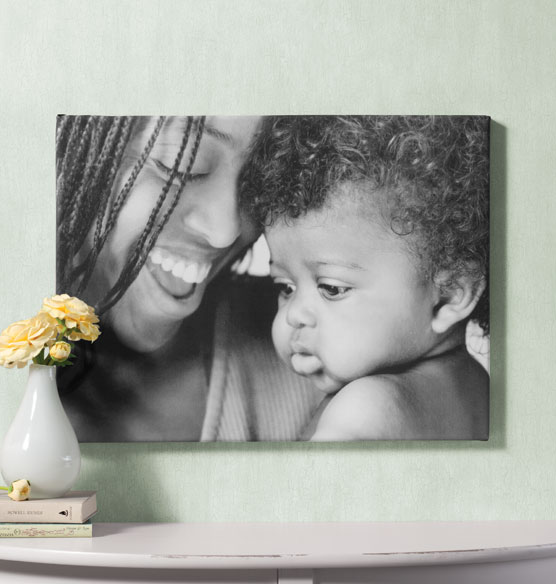 Full Bleed Single Photo Canvas - 18 x 24